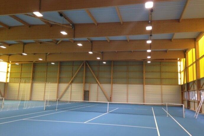terrains vestiaires et club hosue pour tennis Cordemais 44