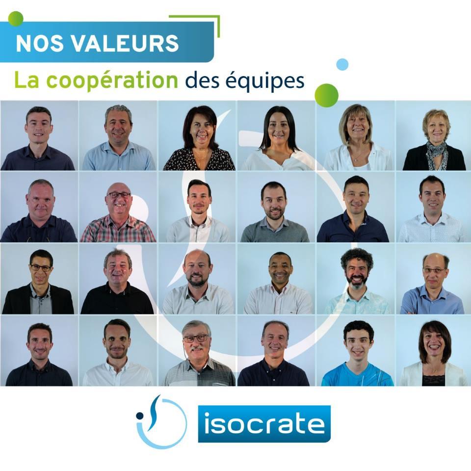 Les valeurs disocrate la cooperation des equipes