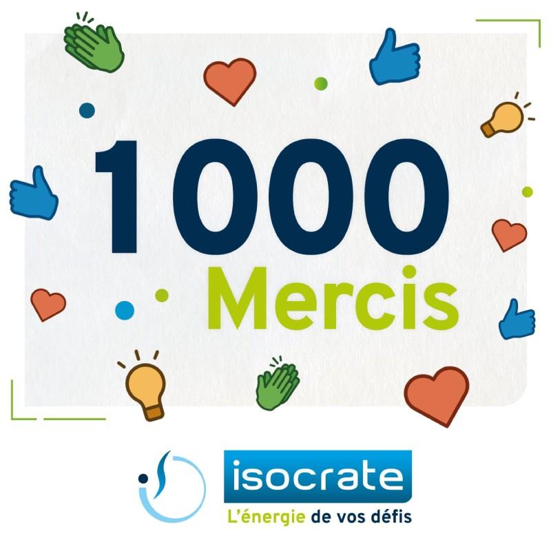 1000 mercis isocrate