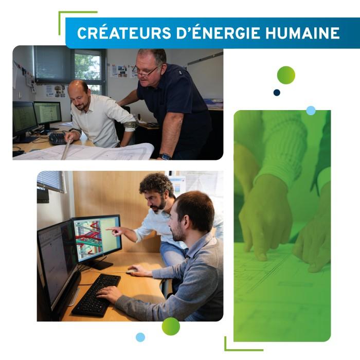 createurs energie humaine